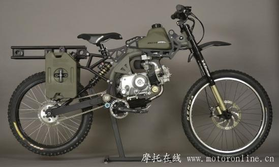 Motoped Survival Bike 02