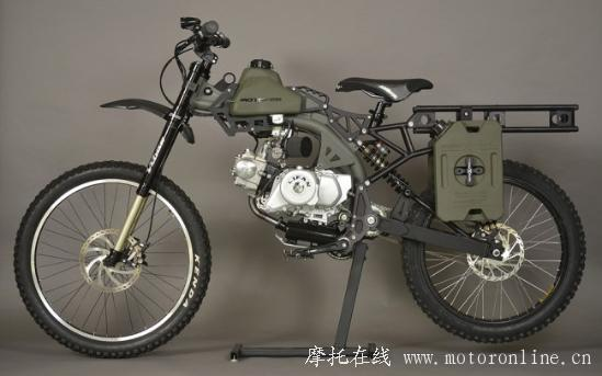 Motoped Survival Bike 01