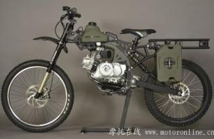 Motoped生存摩托车:军绿行动版