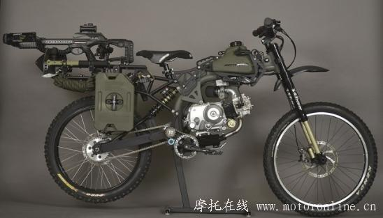 Motoped Survival Bike 03