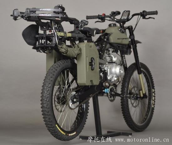 Motoped Survival Bike 04