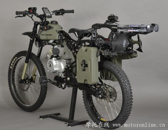 Motoped Survival Bike 05