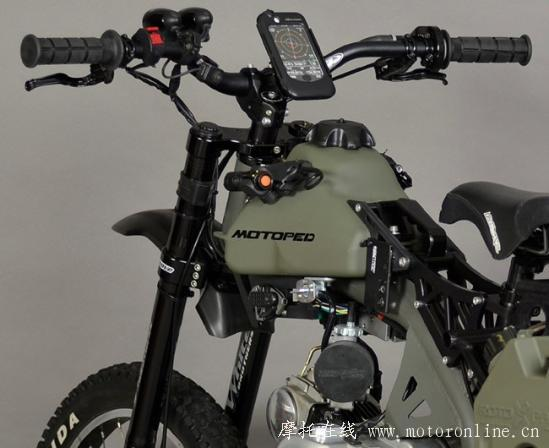 Motoped Survival Bike 07