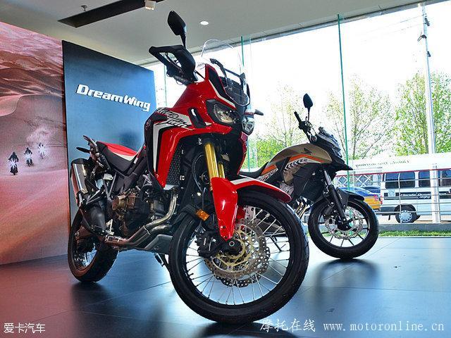已近在咫尺 本田进口摩托车3款新车发布