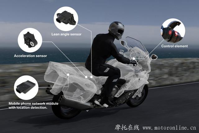 不仅是快!宝马推出智能应急系统摩托车