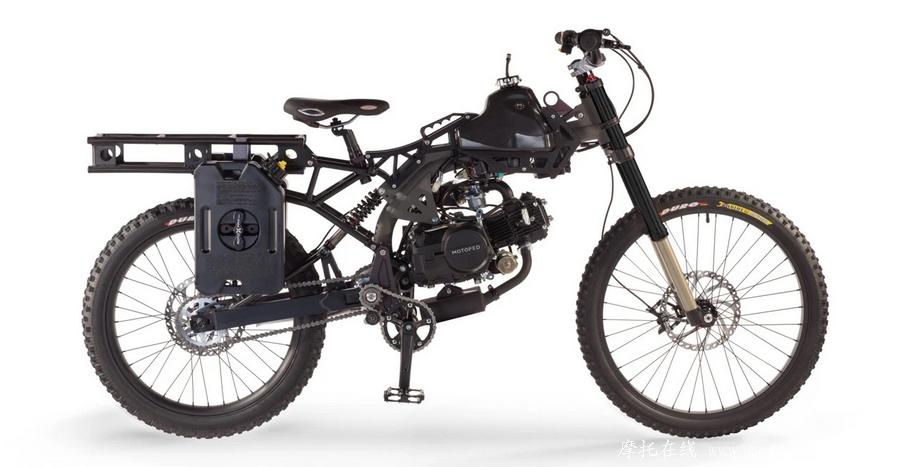 2016款战术生存机车motoped survival